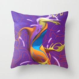 The dancer Throw Pillow