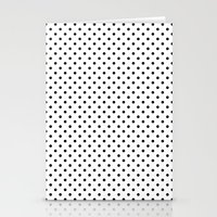 dots Stationery Cards featuring Dots by Kings in Plaid