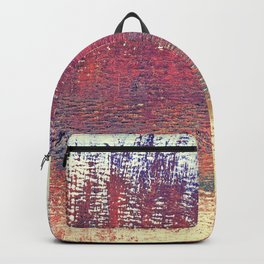 Maritime Lakeshore In Autumn Backpack