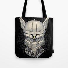 Viking robot Tote Bag