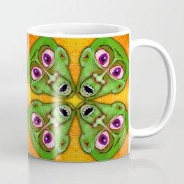 Too Many Green Guys Coffee Mug