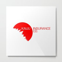 Kaiju Insurance Co. Metal Print