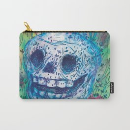 Mayan Skull Carry-All Pouch