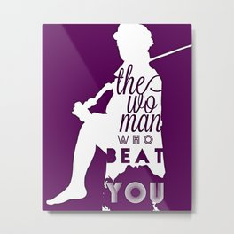 Beat You Metal Print