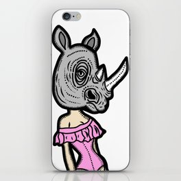 Rhinoplasty iPhone Skin