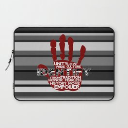 Red Hand Laptop Sleeve