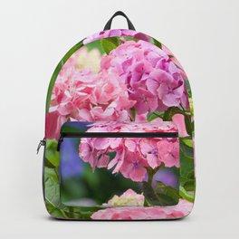 Pink & Lavender Flower Clusters Backpack