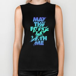 Jedi Mantra - May the Force be with you Biker Tank