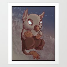 Griffin Nugget Art Print