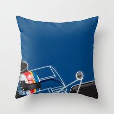 François Cevert, Tyrrell 003, 1972 Throw Pillow