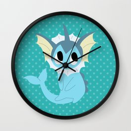 Vaporeon Wall Clock