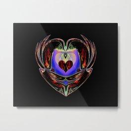 Fiery Love Metal Print