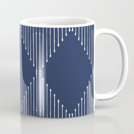Geo / Navy Coffee Mug