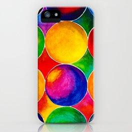 Geometric Brights #2 iPhone Case