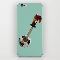 fado, soccer,and a cock from barcelos iPhone & iPod Skin