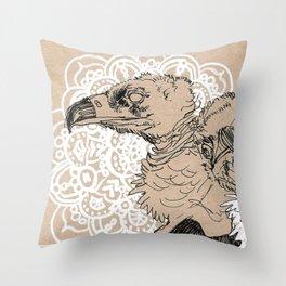 Vultures Throw Pillow