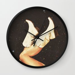 These Boots (Space) Wall Clock