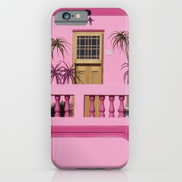 Cape Malay pink house iPhone Case