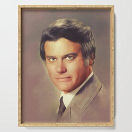 Larry Hagman, Actor Serving Tray