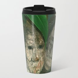 encased in cement Travel Mug