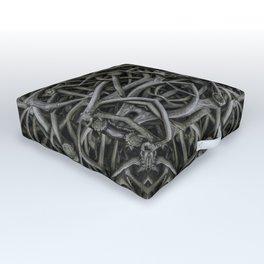 Antler Farm Outdoor Floor Cushion
