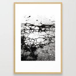 asphalt Framed Art Print
