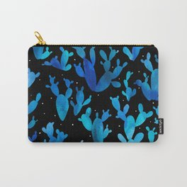 Desert night with cacti Carry-All Pouch