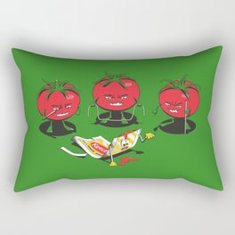 100% Tomate Natural Rectangular Pillow