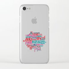 Childe Harold's Clear iPhone Case