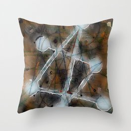 solving mysteries Throw Pillow