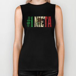 Nieta Gift Mexican Design For Mexican Flag Design for Mexican Pride Vintage Biker Tank