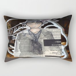 La Mode.  Rectangular Pillow