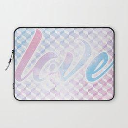 Geometric 1 Love Laptop Sleeve