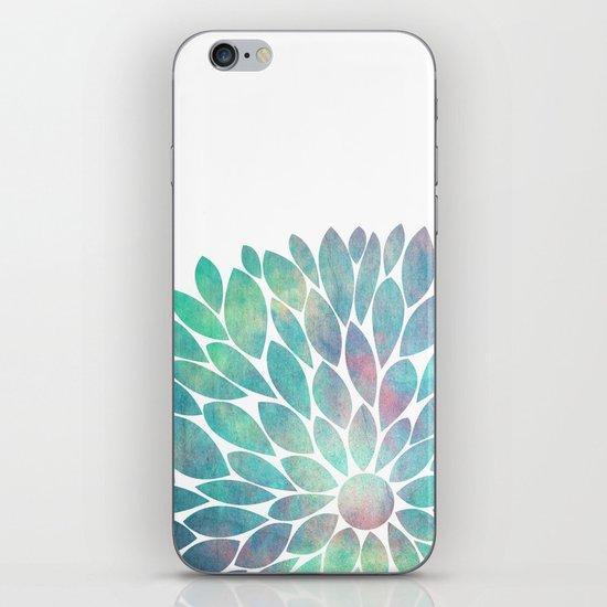 Watercolor Flower iPhone & iPod Skin