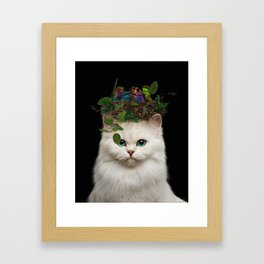 make beautiful things... even if nobody cares. Framed Art Print
