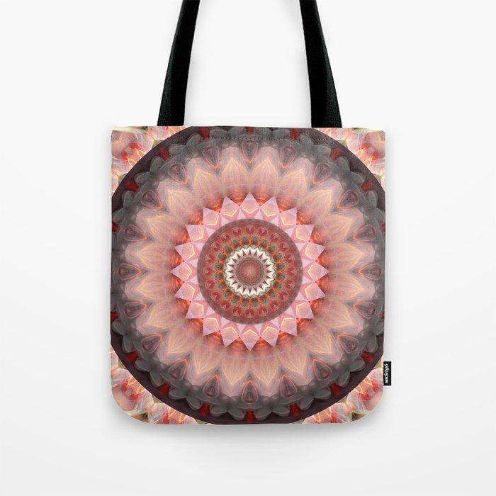 Mandala Teenage Girl Tote Bag