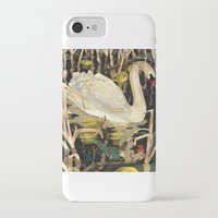 swan iPhone & iPod Cases featuring Swan by Lara Paulussen