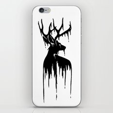 Painted Stag V.2 iPhone & iPod Skin