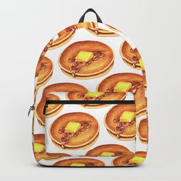 Pancakes Pattern Backpack