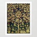 William Morris Tree Of Life by artgallery