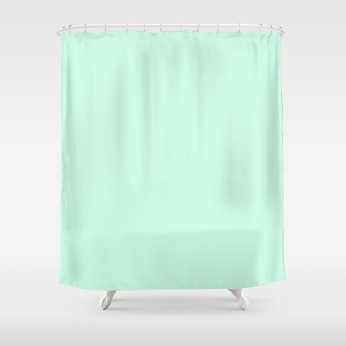 Sea Glass Shower Curtain By Erstudiome