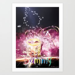 Dummy teaser poster Art Print
