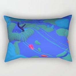 Evening Stroll Rectangular Pillow