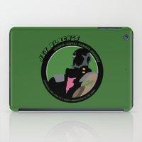 cowboy bebop iPad Cases featuring Bebop Jet by AngoldArts