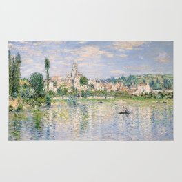 Vetheuil in Summer 1880 by Claude Monet Rug