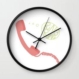 HELLO?? Wall Clock