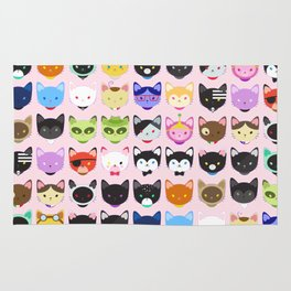 Love character cats Rug