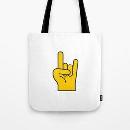 Hans Gesture - The Horns Tote Bag