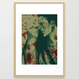 What doesn't kill you Framed Art Print