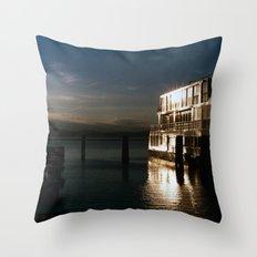 film burlington reflection Throw Pillow